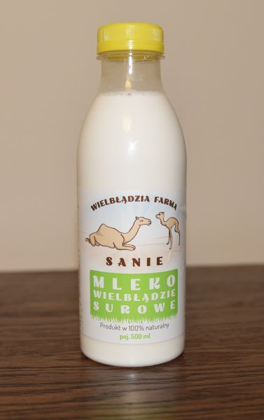 Frozen Raw Camel Milk 25 Liters (50x500ml )